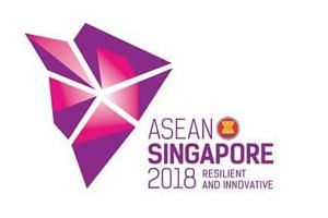 "The logo, featuring a ""modern, stylised design"", was unveiled at the closing ceremony of the 31st Asean Summit in Manila."