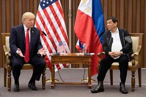 US President Trump said his visit to the Philippines repaired relations between the two countries.