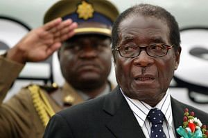 93-year-old Zimbabwe President Robert Mugabe has ruled since he led the country to independence from white minority rule in 1980.