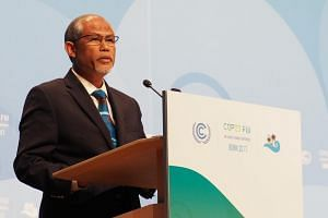 Minister for the Environment and Water Resources Masagos Zulkifli said at a climate change conference in Bonn, Germany, that Singapore will be designating next year as the Year of Climate Action.