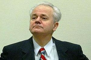 Former Yugoslavian President Slobodan Milosevic