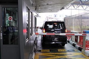 Motorists who are caught not paying tolls at the Woodlands and Tuas checkpoints the first time are fined $50, while repeat offenders are fined $100.