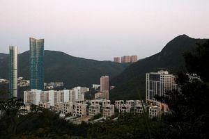 A general view of the Mount Nicholson project developed by Wheelock and Company in Hong Kong, China, on Nov 1, 2017.