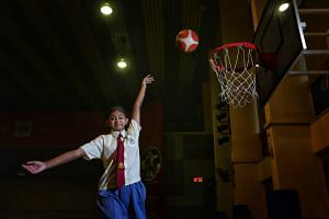 Despite her many commitments, Dikshita Ramesh from Changkat Primary School, who was captain of its basketball team and head prefect of her school, achieved good scores for her Primary School Leaving Examination.