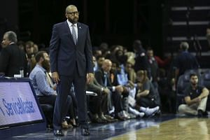 Memphis Grizzlies head coach David Fizdale during the third quarter against the Houston Rockets at FedExForum on Nov 18, 2017. He was sacked on Monday with the team stuck in an eight-game losing run.
