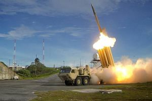 US West Coast defences would likely include Terminal High Altitude Area Defence (Thaad) anti-ballistic missiles, similar to those deployed in South Korea to protect against a potential North Korean attack.