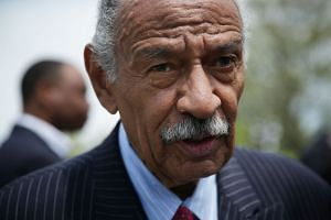 Conyers (above) is the longest-serving current member of the House and the longest-serving African-American in history.