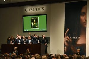 The painting was sold last month in New York for US$450.3 million, with auction house Christie's steadfastly declining to identify the buyer.