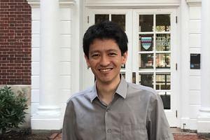Mr Li Shengwu, nephew of Prime Minister Lee Hsien Loong, in Cambridge, Massachusetts on Aug 12, 2017.
