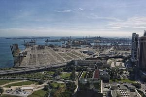 In 1966, the Government decided to build the first container port in South-east Asia in Tanjong Pagar (below), when such a concept was still new. The terminal opened in 1972.