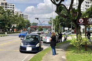 The victim suffered serious head injuries and died in hospital after getting hit by a car at the junction of Woodlands Avenue 1 and 2 on Dec 10, 2017.