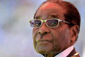 Zimbabwe's former president Robert Mugabe left Harare with his wife Grace and aides on Monday evening, the official said. He is expected to make a stopover in Malaysia, where his daughter, Bona, is expecting a second child.