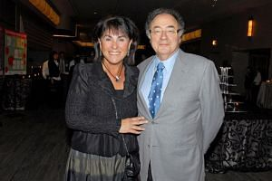 Honey and Barry Sherman are shown at the annual United Jewish Appeal (UJA) fundraiser in Toronto, Canada, in 2010.