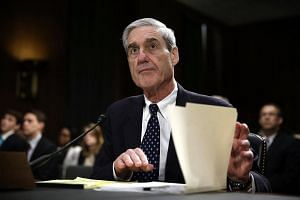 Mr Robert Mueller, former Federal Bureau of Investigation director and special counsel leading the Russia investigation, awaiting the start of a hearing before the Senate Judiciary Committee on Capitol Hill in Washington, DC, on June 18, 2013.