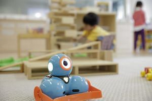 The Preschool Learning Academy, or Play@TP, is an experimental pre-school that has taught robotics in the past.