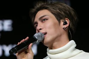 A file photo of Jonghyun of K-pop boy group SHINee, who died, in Seoul, on Dec 18.