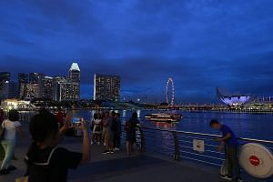 Come Sunday, One Fullerton and the area around Marina Bay will be brightly lit and crowded as residents and visitors head for Singapore's largest year-end party.