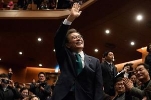 President Moon Jae In set out to restore faith in a nation reeling from the scandal that brought down his predecessor, Park Geun Hye.