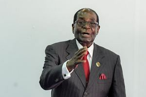 Mugabe (above, in 2016) will get a residence, a car fleet and private air travel.