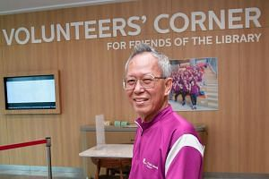 Mr Ho Hew Lee, 75, has been teaching his fellow seniors how to use technology for the past three years.
