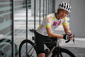 Dr Terence Kee, 47, resolved to do more for his patients after his father's death from kidney failure in August last year.