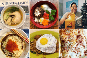 Here is what some of our readers ate for their first meals of the year.