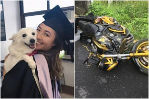 Miss Vanalyn Png, the second Singaporean involved in a horror motorcycle accident in Thailand on New Year's Eve, died from her injuries just past midnight on Jan 1, 2018.