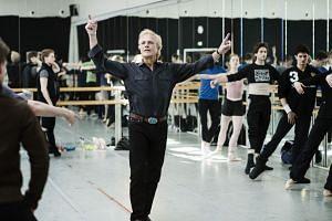 Peter Martins, the leader of the New York City Ballet, during a rehearsal in Copenhagen, Denmark.