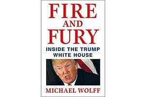 The book by Michael Wolff about Donald Trump's presidency and the White House will be released on Jan 9.
