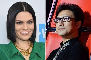British pop star Jessie J (left) is in the starting line-up for The Singer 2018, along with Chinese rock star Wang Feng.