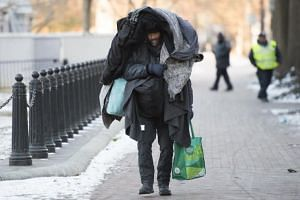 There are almost 7,500 homeless people in Washington, DC.