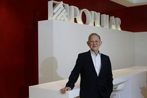 Popular Bookstore group chief executive and executive director Chou Cheng Ngok, who has been with the company for more than 50 years.