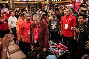 Pakatan Harapan also named Anwar's wife and PKR president Wan Azizah Wan Ismail as the opposition candidate for deputy prime minister. Former Malaysian prime minister Mahathir Mohamad reacting on being elected the opposition's prime ministerial candi
