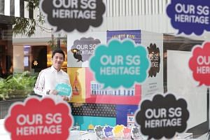 Mr Alvin Tan, Assistant Chief Executive (Policy & Community), NHB, at the Our SG Heritage Plan roadshow.