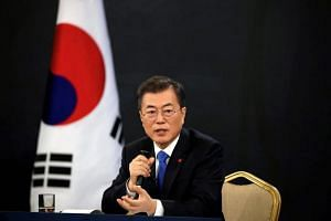 South Korea's President Moon Jae In said it was wrong of the previous government not to consult the victims when drawing up the 2015 deal.