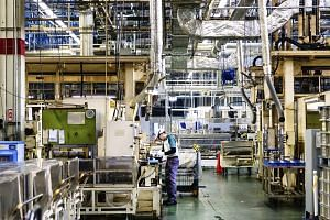 A Jatco transmission factory in Fuji, Japan. The company employs more 7,000 workers and is jointly owned by Nissan, Mitsubishi and Suzuki.
