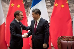 French President Emmanuel Macron will wrap up his first official visit to China with a clearer idea of the challenge he faces in wielding Europe's economic power on the global stage.