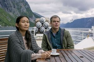 The burgeoning relationship between Paul (Matt Damon) and Ngoc Lan Tran (Hong Chau) is not interesting enough to sustain the social commentary.