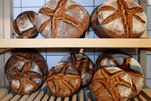 Bakeries are becoming more commonplace in South Korea, with more Koreans eating more bread and other baked goods.