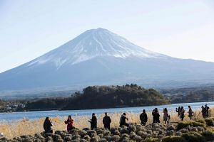 A record 28.7 million foreign tourists entered Japan in 2017, a nearly 20 per cent increase from the previous year.