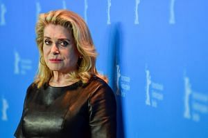 French actress Catherine Deneuve was among those who signed a letter denouncing the #MeToo movement.