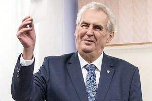 Opinion polls show that incumbent Czech president Milos Zeman will probably garner the most votes in the first round but too few to avoid a Jan 26-27 runoff with one of his eight challengers.