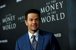Mark Wahlberg poses at the premiere for All The Money In The World in Beverly Hills, California on Dec 18, 2017.