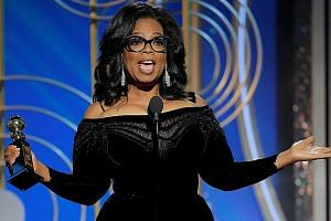 Ms Oprah Winfrey's inspiring speech at the Golden Globe Awards last week has prompted calls for her to run for the presidency in 2020.