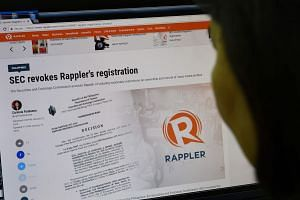 The Securities and Exchange Commission of the Philippines has revoked the operating licence of news website Rappler, in a ruling on Jan 11.