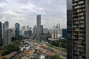 A total of 14,707 private home and executive condominium units were sold last year, 23 per cent higher than the 11,971 units moved in 2016, according to data compiled by the Urban Redevelopment Authority. Analysts say several developers held back lau