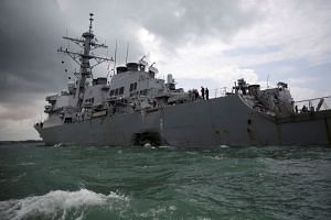 The commanding officer of the USS John S. McCain guided missile destroyer, which collided with a merchant ship near Singapore in August, faces possible charges of dereliction of duty, hazarding a vessel and negligent homicide.