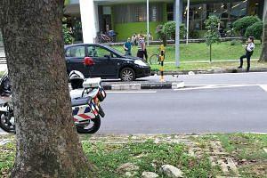 The boy was hit by a car while using a raised zebra crossing in Geylang East Avenue 1.