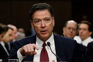 Comey (above) will begin lecturing in September at the liberal arts university.
