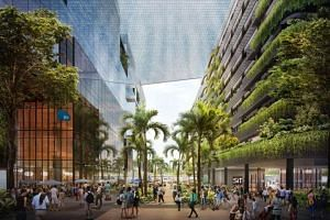 "The Punggol Digital District is a pilot project for what is being termed an ""enterprise district"", with the authorities studying if this model can be applied to other areas in the future."